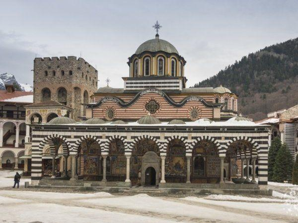 Rila Monastery from Sofia